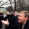 Ахметов вышел к митингующим лично и даже без охраны (ФОТО+ВИДЕО)