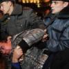 В Москве акции протеста в поддержку Евромайдана подавляются моментально