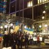 В Лондоне начался бессрочный пикет квартиры Ахметова в One Hyde Park