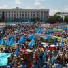 В Крыму сегодня пролилась первая кровь
