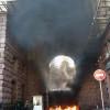 КГГА снова захвачена, также горят ворота Киевсовета (ФОТО)