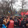 Кличку в Днепропетровске устроили «теплый прием» (ФОТО)