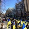В Одессе несколько тысяч жителей города вышли на антипутинский марш