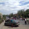 Митингующие против проведения выборов президента в Донецке идут громить резиденцию Ахметова (ФОТО)