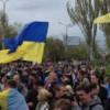 Донбасс встает! В Стаханове «побеждают» украинцы