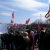 На пророссийском митинге в Харькове призывают бойкотировать президентские выборы и обещают провести референдум