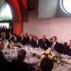 Порошенко в Варшаве сидит справа от Обамы (ФОТО)