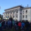 «Посольство России должно покинуть территорию Украины» — ультиматум митингующих