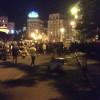 Ночью на Майдане была масштабная драка со стрельбой из автомата. Есть раненые (ФОТО)