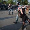 В Ростове разогнали митинг в честь Дня Независимости Украины