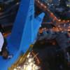 Руфер Мустанг показал доказательства «преображения» московской высотки (ВИДЕО)