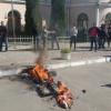 В Одессе «сожгли» и «похоронили» регионала Сергея Кивалова (ФОТО+ВИДЕО)