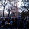 В Харькове коммунистов на митинге забросали яйцами и облили зеленкой (ВИДЕО)
