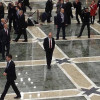 Путин покинул Дворец Независимости в полном одиночестве (ФОТО)