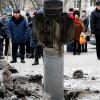 Жители Краматорска обсуждают, откуда прилетели снаряды (ВИДЕО)