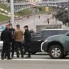 Сын Порошенко в центре Киева попал в аварию