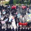 Возле Рады возобновился протест людей, называющих себя шахтерами