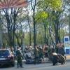 Пьяный террорист устроил аварию в центре Донецка (ФОТО)