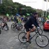 В Киеве проходит велопробег