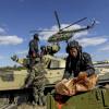 Спецназ ВСУ на вертолете обезвредил диверсантов (ВИДЕО)