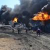 Следствие рассматривает версию умышленного поджога нефтебазы ее собственниками