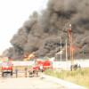 Семьям погибших в пожаре на нефтебазе выплатят по 200 тысяч гривен