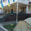 В Мариуполе продолжается протест против демилитаризации Широкино