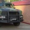 Пограничники начали испытания в зоне АТО бронеавтомобиля Казак-2