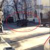 «Титушки» стреляющие по людям, сели в черный джип Мерседес (ФОТО)