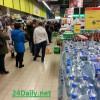 В Киеве 20 февраля наблюдалась паника — люди опустошали банкоматы и стояли часами в очередях в магазинах (ФОТОобзор)