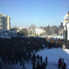 Протестующие захватили Волынскую ОГА и МВД