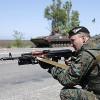 Почти 500 человек из батальона обороны Киева отправляются в зону АТО