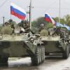 На территорию Украины прорвалась очередная большая колонна российской военной техники