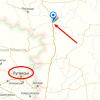 «Конвой Путина» засекли в 40 киллометрах от границы с Луганском (ФОТО+КАРТА)