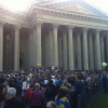 На «Марш мира» в Питере начали собираться люди (ФОТО+ПРЯМАЯ ТРАНСЛЯЦИЯ)
