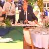 Путин за обеденным столом на G20 сидел совсем один (ФОТОФАКТ)