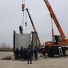 Из Германии прибыли 40 грузовиков с жилищными модулями для переселенцев с Донбасса (ФОТО)