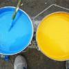 В Антраците казаки обязали торговцев доносить на покупателей синей и желтой краски