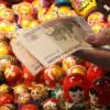 Курс рубля рухнул ниже 69 руб/евро