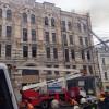 В историческом здании в центре Киева произошёл пожар (ВИДЕО)