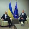 В Брюсселе проходит встреча Яценюка и Туска