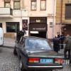 Неизвестные в самом центре Киева напали на водителя и расстреляли его автомобиль (ФОТО)