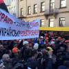 Протестующие шахтеры перекрыли часть Крещатика