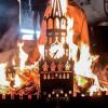 Мангалы с горящим Кремлем стали трендом украинских соцсетей (ФОТО)