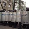Шахтеры прорвали милицейский кордон на Банковой и готовятся блокировать Крещатик (ВИДЕО)
