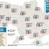 Зарплата украинца в день равна зарплате американца в час (ИНФОГРАФИКА)