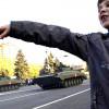 Оккупанты провели в Донецке репетицию парада на 9 мая