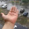 На Киев после сухой и душной погоды обрушился ливень