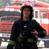 В центре Киева пылал пожар