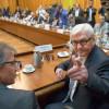 Штайнмайер сделал заявление в связи с наступившим на востоке Украины перемирием